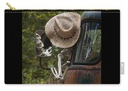 Skeleton Crew - Skeleton Driving A Vintage Truck Carry-all Pouch