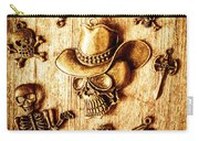 Skeleton Pendant Party Carry-all Pouch