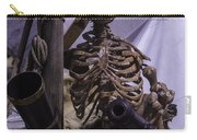 Skeleton With Bow Canon Carry-all Pouch