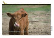 Skeptical Calf Barbed Wire Carry-all Pouch