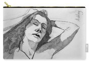 Sketch For Ashley Carry-all Pouch