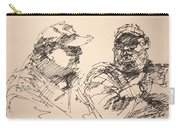 Sketch Men At Tims Carry-all Pouch