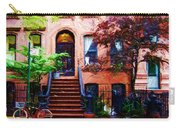 Sketch Of Carrie's Place From Sex And The City Carry-all Pouch