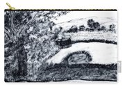 Sketch Of Country Scene Carry-all Pouch