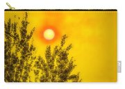 Skies Of Smoke And Fire Carry-all Pouch
