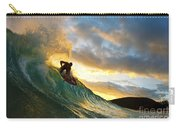 Skimboarding At Sunset II Carry-all Pouch