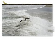 Skimmer And Waves Carry-all Pouch