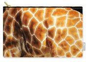 Skin Deep - Buy Giraffe Art Prints Carry-all Pouch