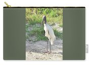 Skinny Wood Stork Carry-all Pouch