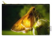 Skipper Butterfly Basking In Sun Carry-all Pouch