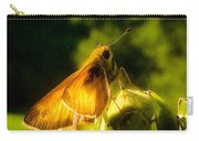 Skipper Butterfly With Sun Shine Carry-all Pouch