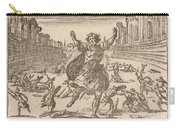Skirmish In A Roman Circus Carry-all Pouch