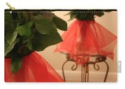 Skirted Roses In Mirror Carry-all Pouch