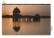 Skn 1364 Sunrise Behind Cenotaph Carry-all Pouch