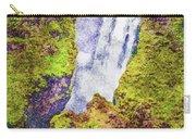 Skogafoss Waterfall #10 Carry-all Pouch