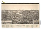 Skowhegan Maine 1892 Carry-all Pouch