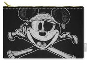 Skull And Bones Mickey  Carry-all Pouch