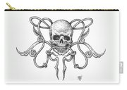 Skull Design Carry-all Pouch
