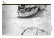 Skull Drawing Carry-all Pouch