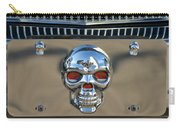 Skull License Plate Carry-all Pouch