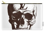 Skull Lv Braun Carry-all Pouch
