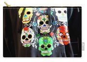 Skull T Shirts Day Of The Dead  Carry-all Pouch