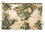 Skulls And Pieces Carry-all Pouch