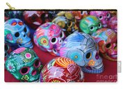 Skulls Day Of The Dead  Carry-all Pouch