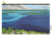 Serene Blue Lake Carry-all Pouch