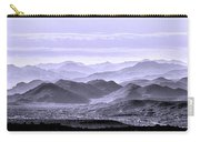 Sky Blue Hills Of The Tonto Carry-all Pouch