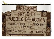 Sky City Sign Carry-all Pouch