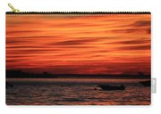 Sky Ripple Sunset Carry-all Pouch
