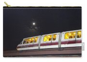 Sky Train On A Lunar Night Carry-all Pouch