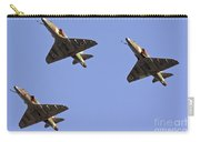 Skyhawk Fighter Jet In Formation  Carry-all Pouch