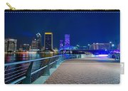 skyline and river coast scenes in Jacksonville Florida Carry-all Pouch