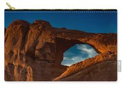 Skyline Arch At Sunset Carry-all Pouch
