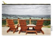 Skyline Lodge Fabius New York Patio View Sc Carry-all Pouch