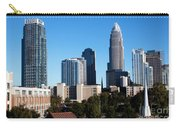 Skyline Of Charlotte North Carolina Carry-all Pouch