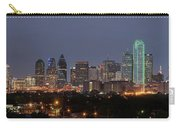 Skyline Of Dallas Pano Carry-all Pouch