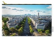 Skyline Of Paris, France Carry-all Pouch