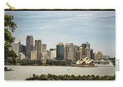 Skyline Of Sydney Downtown  Viewed From Taronga Hill, Australia Carry-all Pouch