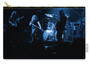 Skynyrd Sf 1975 #10 Crop 2 Enhanced In Blue Carry-all Pouch