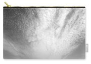 Skyscape At Carmel Beach B And W Carry-all Pouch