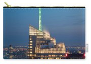 Skyscraper Lit Up At Night, One World Carry-all Pouch