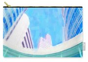 Skyscrapers Against Blue Sky Carry-all Pouch
