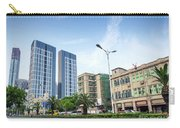 Skyscrapers And Road In Downtown Xiamen City China Carry-all Pouch