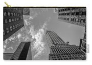 Skytops Manhattan Black And White Carry-all Pouch