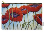 Skyward Poppies Carry-all Pouch