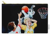 Slam Dunkin Dog Carry-all Pouch by Hanne Lore Koehler