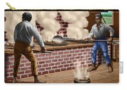 Slaves Refining Sugar Cane Jamaica Train Historical Old South Americana Life  Carry-all Pouch